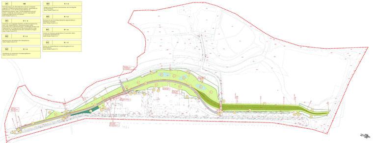 Maßnahmeplan des Landschaftspflegerischen Begleitplans